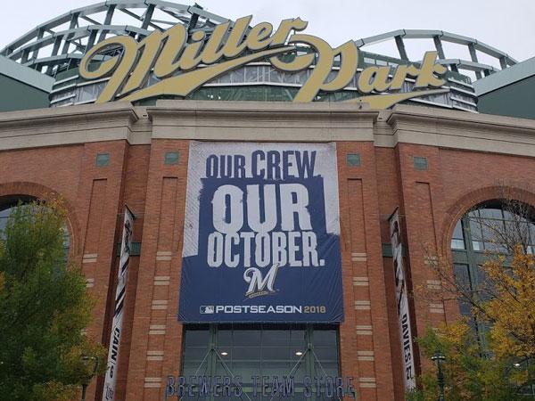 Brewers Playoff Banner