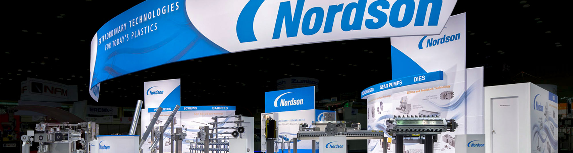 Nordson Tradeshow Booth