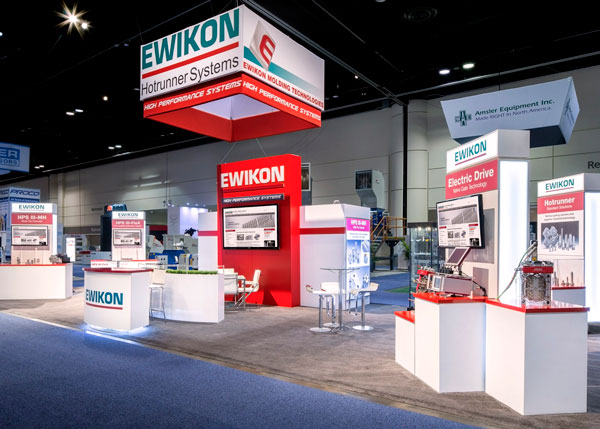 EWIKON Hotrunner Systems Tradeshow Booth