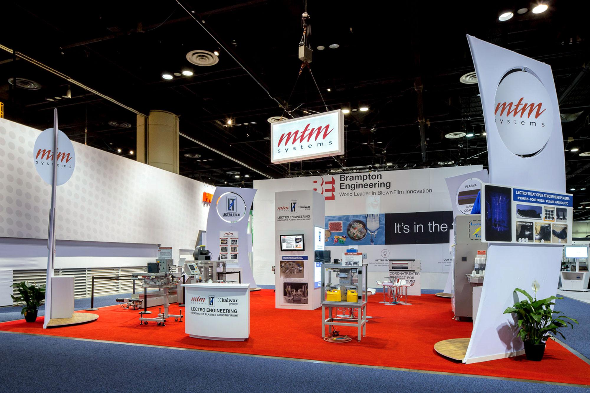 MTM Tradeshow Booth