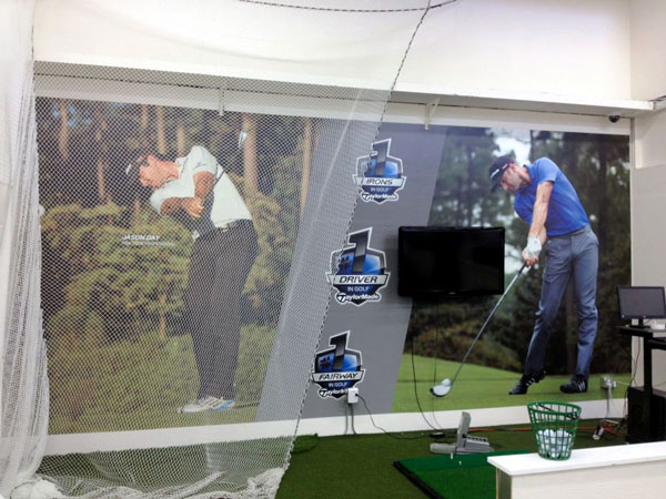 Golf Backdrop Wall Graphic