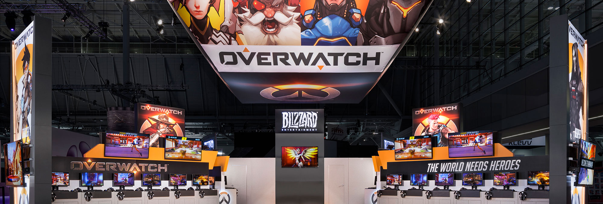 tradeshow solutions overwatch booth