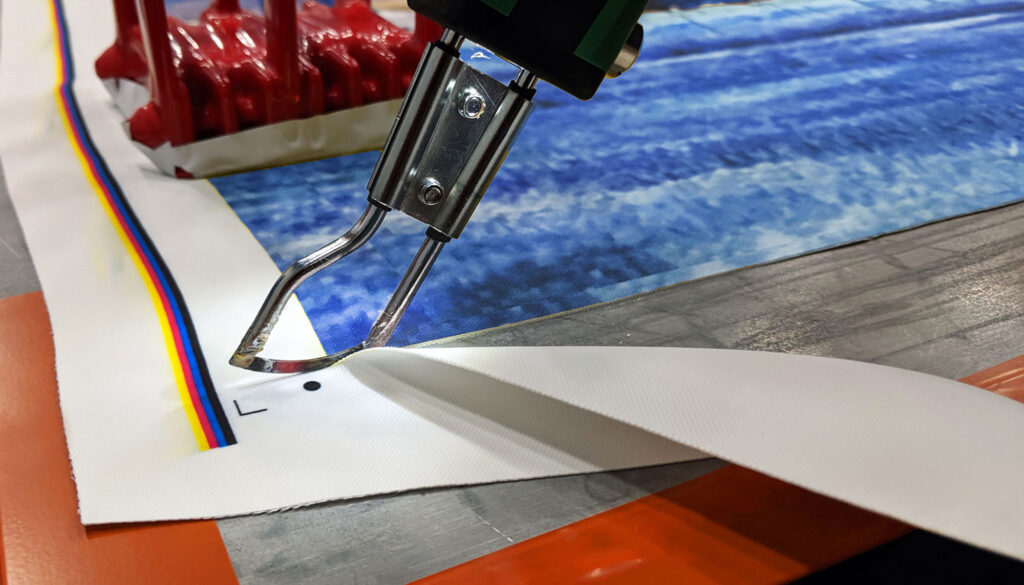 Cutting Fabrics For Printing