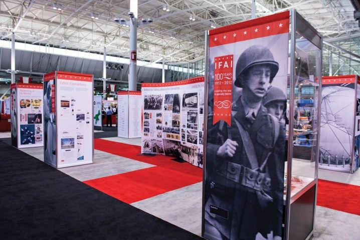 IFAI Wraps for tradeshow
