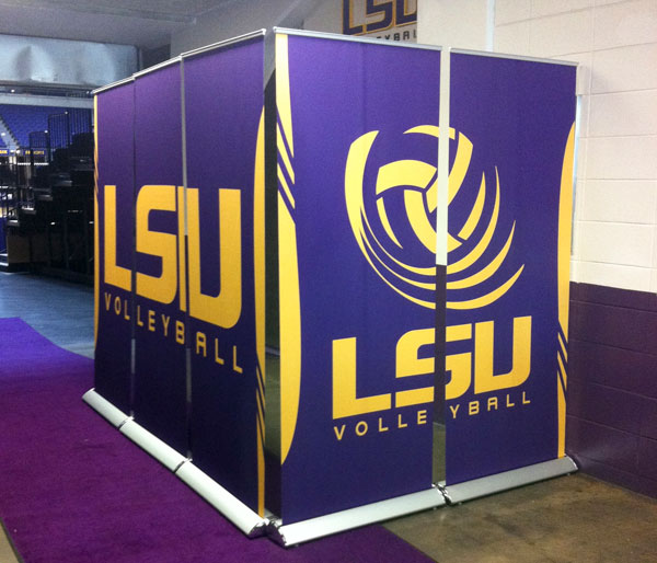 LSU Retractable Banners